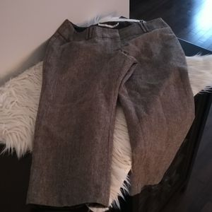 3/$20 Tweed capri pants